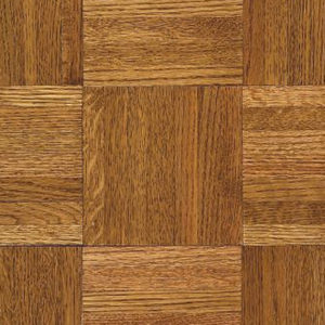 "Armstrong Urethane Parquet Natural & Better ~ Oak Honey 12""SQ-0"