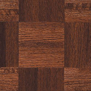 "Armstrong Urethane Parquet Natural & Better ~ Oak Cinnabar 12""SQ-0"