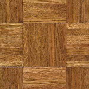 "Armstrong Urethane Parquet Contractor / Builder ~ Oak Honey 12""SQ-0"
