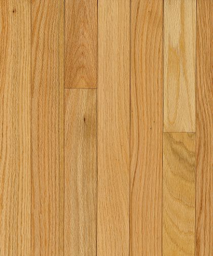 "Bruce Manchester Strip ~ Red Oak Natural 2 1/4""-0"