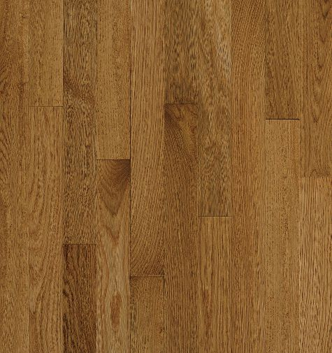 "Bruce Natural Choice Low Gloss Strip ~ White Oak Spice 2 1/4""-0"
