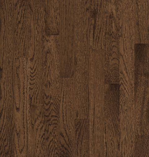"Bruce Natural Choice Low Gloss Strip ~ White Oak Walnut 2 1/4""-0"