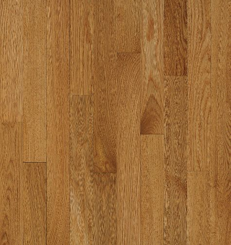 "Bruce Natural Choice Low Gloss Strip ~ White Oak Desert Natural 2 1/4""-0"