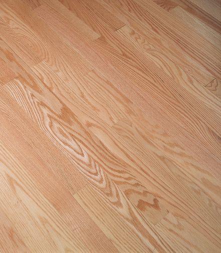 "Bruce Fulton / Low Gloss Strip ~ Red Oak Natural 2 1/4""-0"