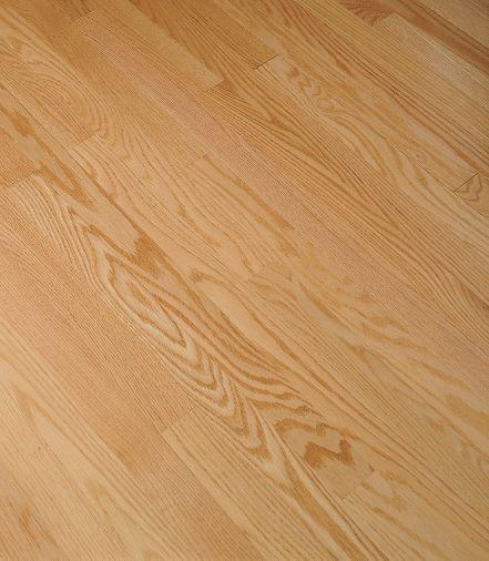 "Bruce Fulton Plank ~ Red Oak Natural 3 1/4""-0"