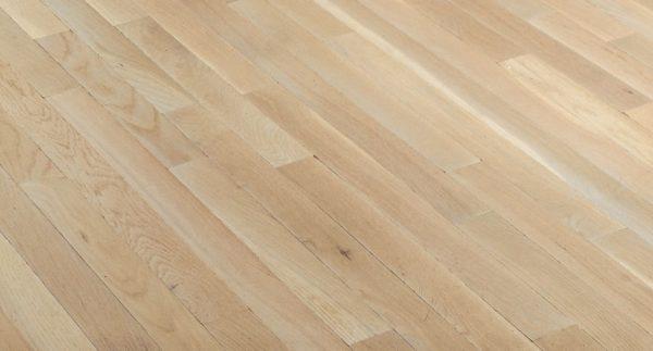 "Bruce Fulton Plank ~ White Oak Winter White 3 1/4""-0"