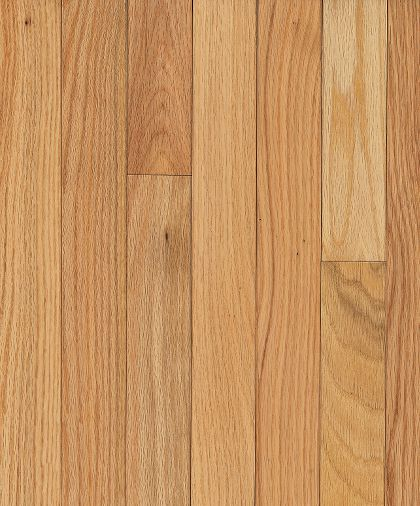"""Bruce Dundee Strip ~ Red Oak Natural 2 1/4""""-0"""