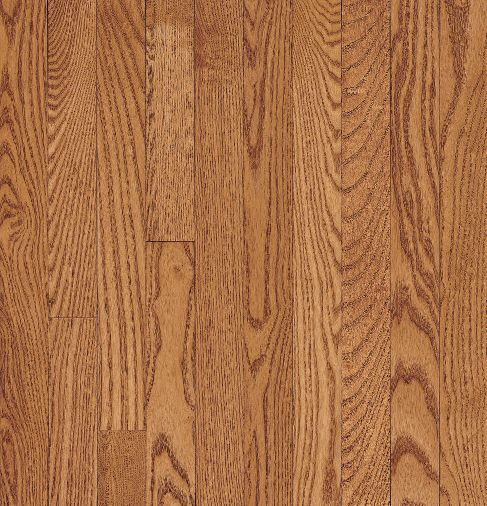 "Bruce Dundee Wide Plank ~ Red Oak Butterscotch 5""-0"