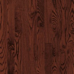 "Bruce Dundee Wide Plank ~ Red Oak Cherry 5""-0"
