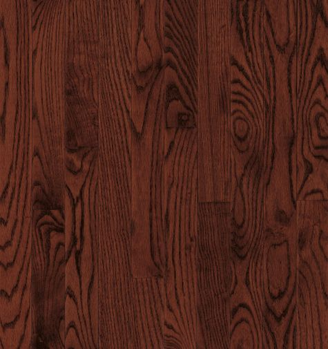 """Bruce Dundee Wide Plank ~ Red Oak Cherry 5""""-0"""