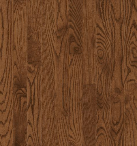 "Bruce Dundee Wide Plank ~ Red Oak Saddle 4""-0"