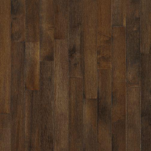 "Bruce Kennedale Prestige Plank ~ Dark Maple Cappuccino 3 1/4""-0"