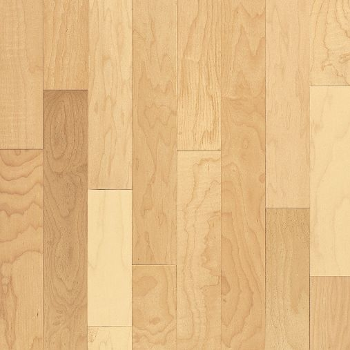 "Bruce Kennedale Prestige Wide Plank ~ Maple Natural 4""-0"