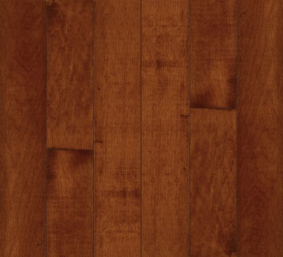 "Bruce Kennedale Prestige Wide Plank ~ Maple Cherry 5""-0"