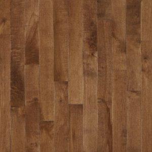 "Bruce Kennedale Strip ~ Dark Maple Hazelnut 2 1/4""-0"
