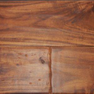 "Santa Fe Hand Sculpted Natural Asian Walnut 4 3/4""-0"