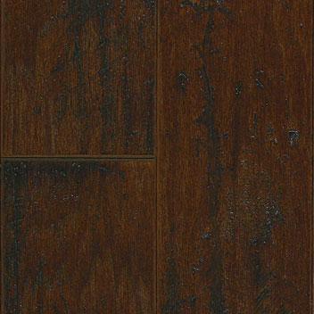 "Mannington Arrow Rock Hickory Leather 3/8"" x 5""-0"