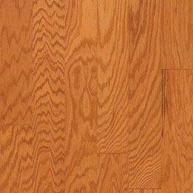 "Harris Traditions Beveled Red Oak Butterscotch 3/8"" x 3""-0"