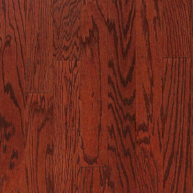 "Harris Traditions Beveled Red Oak Brandy 3/8"" x 3""-0"