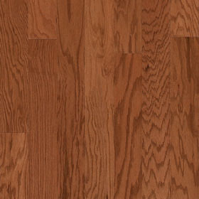 "Harris Traditions Beveled Red Oak Mink 3/8"" x 3""-0"