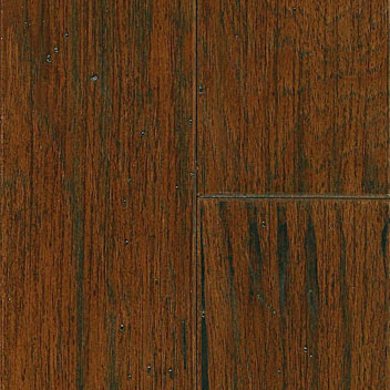 "Mannington Inverness Black Isle Hickory Autumn 1/2"" x 5""-0"