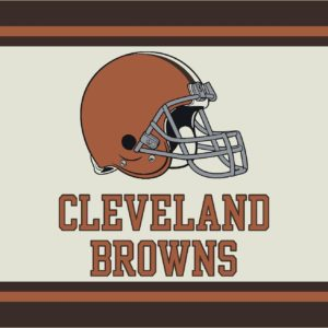 "Cleveland Browns 3'10"" x 5'4""-0"