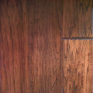 "Artisan Mills Hardwood Barcelona Collection Engineered Handscraped Hickory Madrid 5""-0"