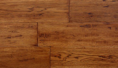 "Forest Accents Timeless Textures Hickory Butternut Handscraped 5""-0"