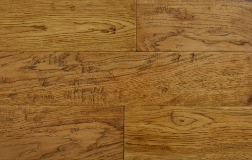 """Forest Accents Timeless Textures Hickory Hazelnut Handscraped 5""""-0"""