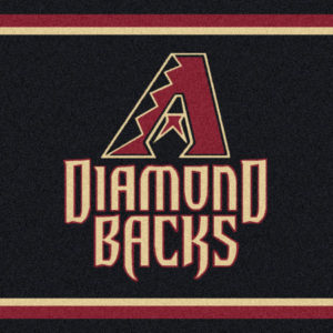 "Arizona Diamond Backs 5'4"" x 7'8""-0"
