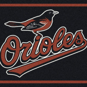 "Baltimore Orioles 3'10"" x 5'4""-0"