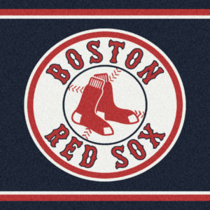 "Boston Red Sox 2'8"" x 3'10""-0"