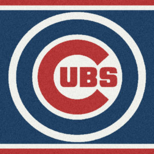"Chicago Cubs 2'8"" x 3'10""-0"