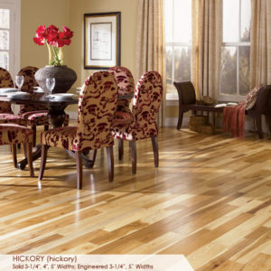 "Somerset Character Collection Engineered Hickory Natural 3 1/4""-0"