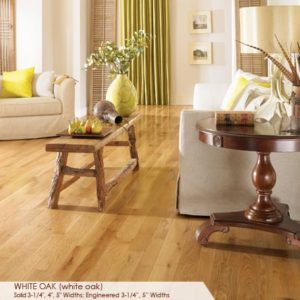 "Somerset Character Collection Engineered White Oak Natural 5""-0"