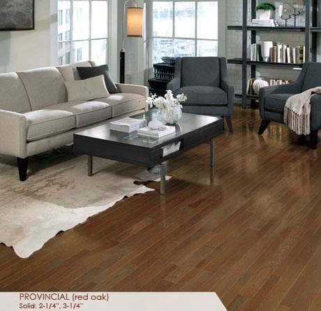 """Somerset Homestyle Red Oak Provincial 3 1/4""""-0"""
