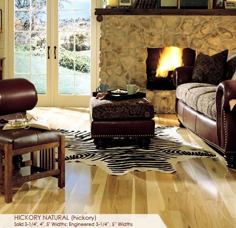 """Somerset Specialty Collection Engineered Hickory Natural 3 1/4""""-0"""
