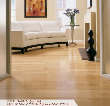 """Somerset Specialty Collection Engineered Maple Natural 3 1/4""""-0"""