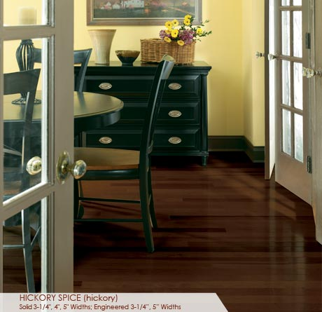 """Somerset Specialty Collection Engineered Hickory Spice 3 1/4""""-0"""