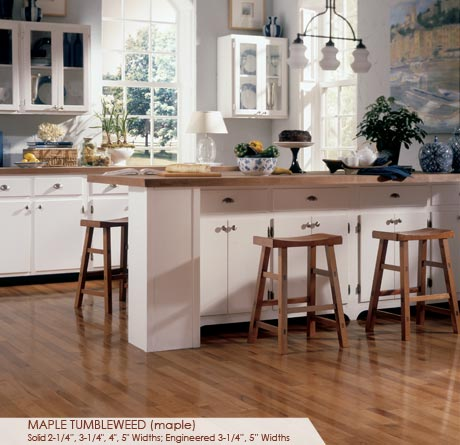 "Somerset Specialty Collection Engineered Maple Tumbleweed 3 1/4""-0"