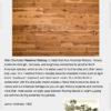 """UA Floors Olde Charleston Engineered Hickory Hazelnut 7 1/2""""-0"""