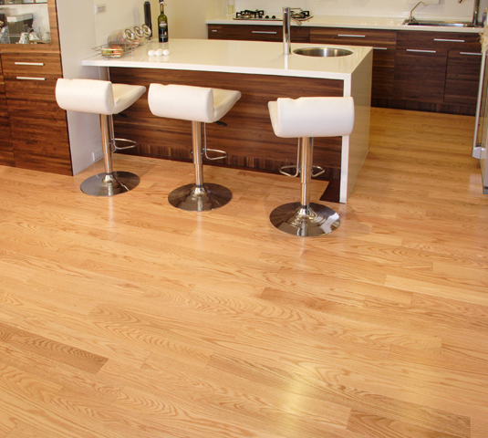 "UA Floors Grecian Series Engineered Red Oak Natural 3 9/16""-0"