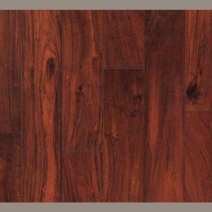 "CFS Kensington Handscraped Engineered Acacia African Black Walnut 4 3/4""-0"