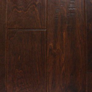 "Artisan Mills Piazza Collection Hand Scraped Engineered Birch Umber 5""-0"