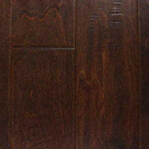 "Artisan Mills Piazza Collection Hand Scraped Engineered Birch Umber 5""-0"