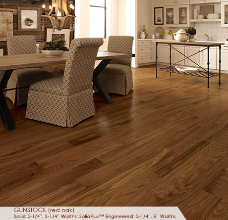 "Somerset Classic Collection Engineered Red Oak Cherry 3 1/4""-0"