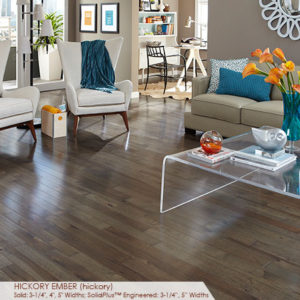 "Somerset Character Collection Engineered Hickory Ember 3 1/4""-0"