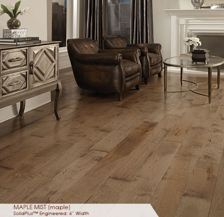 Somerset Wide Plank Collection Engineered Maple Mist
