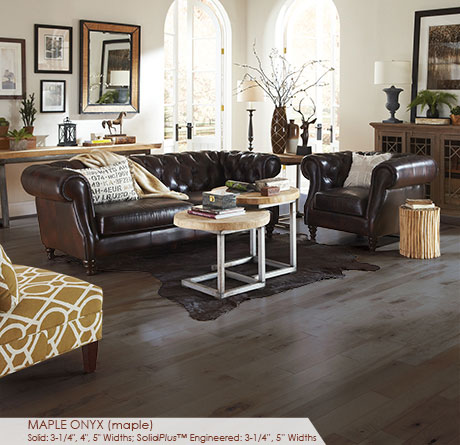 """Somerset Character Collection Engineered Maple Onyx 5""""-0"""