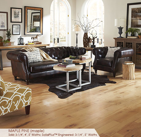 """Somerset Character Collection Engineered Maple Pine 5""""-0"""